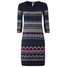 Buy White Stuff Chagall Knit Dress, Dark Irish Online at johnlewis.com