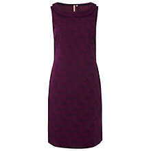 Buy White Stuff Ornamental Cotton Dress, Violet Online at johnlewis.com