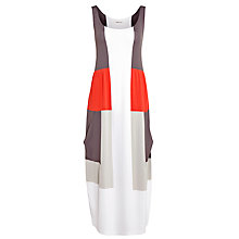 Buy Crea Concept Maxi Dress, Grey/Red/Stone Online at johnlewis.com