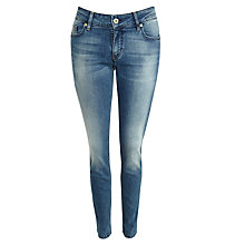 Buy BOSS Orange Lunja Jeans, Medium Blue Online at johnlewis.com
