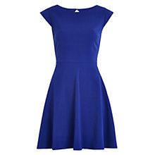 Buy Louche Fit And Flare Dress, Blue Online at johnlewis.com