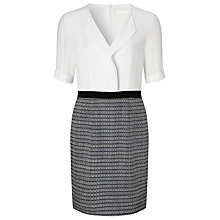 Buy BOSS Shift Dress, Grey Online at johnlewis.com