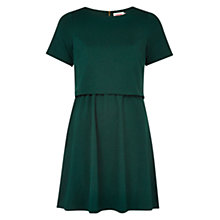 Buy Louche Double Layer Dress, Forest Green Online at johnlewis.com