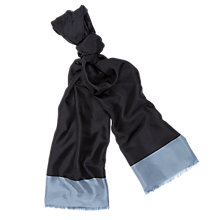 Buy Aquascutum Orczy Colourblock Silk Scarf Online at johnlewis.com