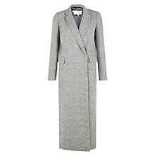Buy Hobbs Quin Coat, Grey Online at johnlewis.com