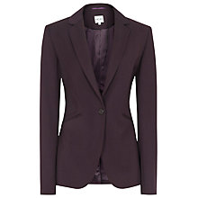 Buy Reiss Larke Slim Tailored Jacket, Plum Online at johnlewis.com