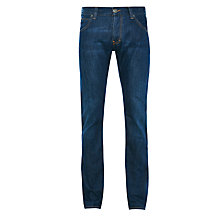 Buy Armani Jeans J08 Straight Leg Jeans, Blue Online at johnlewis.com