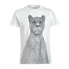 Buy Supremebeing Pantera Konig T-Shirt, White Online at johnlewis.com