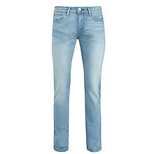 Buy Levi's 511 Aber Slim Fit Jeans, Light Wash Online at johnlewis.com