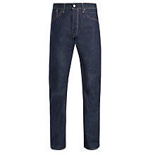 Buy Levi's 501 Straight Long Day Selvedge Jeans, Raw Online at johnlewis.com