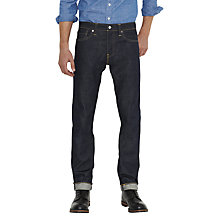 Buy Levi's 511 Eternal Day Selvedge Slim Jeans, Raw Online at johnlewis.com