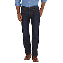 Buy Levi's 504 Rich Straight Jeans, Rinse Wash Online at johnlewis.com