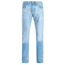 Buy Levi's 501 Haber Original Straight Jeans, Light Wash Online at johnlewis.com