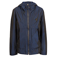 Buy Pretty Green Danbury Hooded Jacket, Navy Online at johnlewis.com