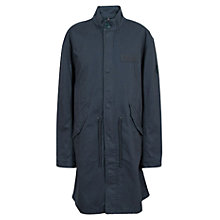 Buy Pretty Green Deansgate Parka, Navy Online at johnlewis.com