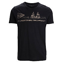 Buy Selected Homme Depeche Mode T-Shirt, Caviar Online at johnlewis.com