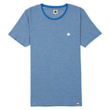 Buy Pretty Green Feeder Striped T-Shirt, Navy Online at johnlewis.com