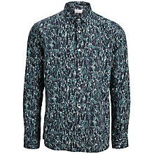 Buy Selected Homme One Forrest Slim Fit Shirt, Navy Online at johnlewis.com