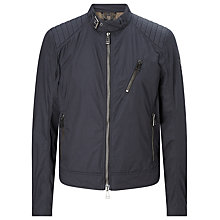 Buy Belstaff Kirkham Cotton Jacket, Ink Blue Online at johnlewis.com