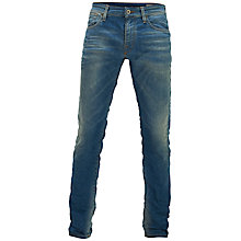 Buy Selected Homme Tworoy Skinny Jeans, Light Blue Denim Online at johnlewis.com