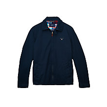 Buy Gant Harrington Windcheater Jacket, Navy Online at johnlewis.com