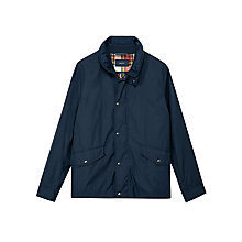 Buy Gant Double Jacket, Evening Blue Online at johnlewis.com