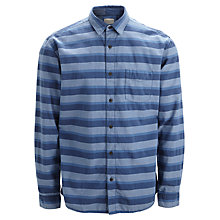 Buy Selected Homme One Indie Striped Shirt, Blue Online at johnlewis.com