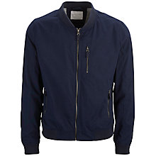 Buy Selected Homme Milo Bomber Jacket, Navy Online at johnlewis.com