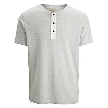 Buy Selected Homme Penn T-Shirt, Grey Online at johnlewis.com