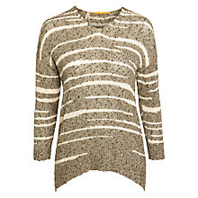 Buy BOSS Orange Irenah Jumper, Dark Beige Online at johnlewis.com