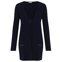 Buy Marella Isador Pleat Back Cardigan, Navy Online at johnlewis.com