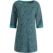Buy Seasalt Amalebra Tunic Dress, Fowey River Topaz Online at johnlewis.com