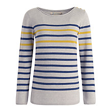 Buy Seasalt Lombard Jumper, Nautical Mustard Online at johnlewis.com