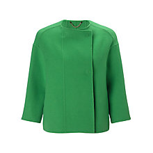 Buy Marella Tripolo Short Jacket, Green Online at johnlewis.com
