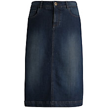 Buy Seasalt Pordenack Point Skirt, Midnight Wash Online at johnlewis.com