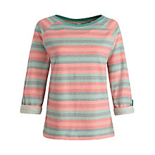 Buy Seasalt Round Island Top, Restronguet Coral Online at johnlewis.com
