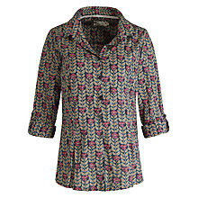 Buy Seasalt Larissa Shirt, Mixed Meadow Squid Ink Online at johnlewis.com