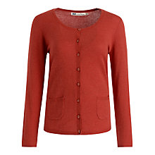 Buy Seasalt Magpie Cardigan, Tomato Online at johnlewis.com