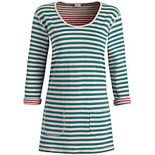 Buy Seasalt Sassy Reversible Tunic Top, Duo Driftwood Online at johnlewis.com