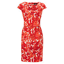 Buy Weekend by MaxMara Floral Two Layer Dress, Red Online at johnlewis.com
