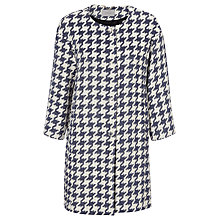 Buy Marella Picco Dogtooth Jacket, Midnight Blue Online at johnlewis.com