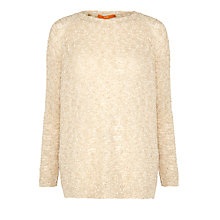 Buy BOSS Orange Willoh Jumper, Taupe Online at johnlewis.com