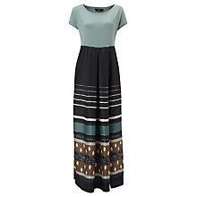 Buy Weekend by MaxMara Mix Print Maxi Dress, Green Online at johnlewis.com