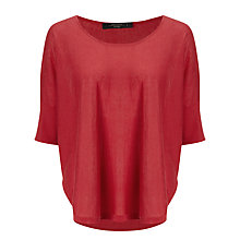 Buy Weekend by MaxMara High Low Jumper, Raspberry Online at johnlewis.com