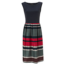 Buy Weekend by MaxMara Stripe Skirt Dress, Blue Online at johnlewis.com