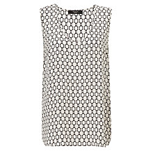 Buy Weekend by MaxMara Geo Print Silk Top, Multi Online at johnlewis.com