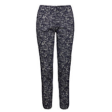 Buy Weekend by MaxMara Cigarette Trousers, Ultramarine Online at johnlewis.com