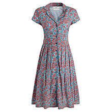 Buy Seasalt Lottie Dress, Ditsy Campion Pumice Online at johnlewis.com