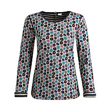 Buy Seasalt Warwick Reversible Top, Daisy Squid Ink Online at johnlewis.com