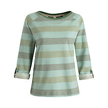 Buy Seasalt Round Island Cotton Top, Restronguet Bay Online at johnlewis.com